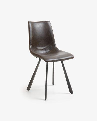 Cadira Trap marró fosc