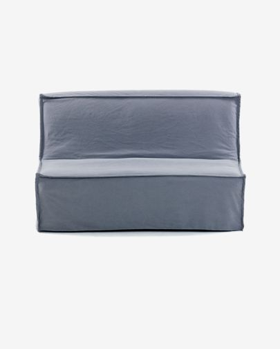 Slaapbank Lyanna 140 cm blauw