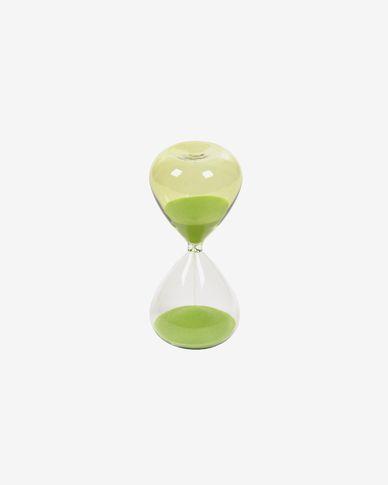 Breshna green hourglass 15 cm