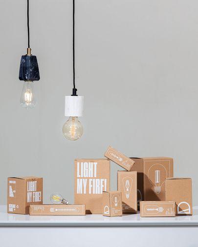 Lampadina LED Bulb E27 da 4W e 65 mm luce calda