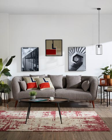 Olost 3-seater sofa in grey 229 cm