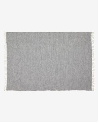 Catifa exterior Elbia de PET gris 160 x 230 cm