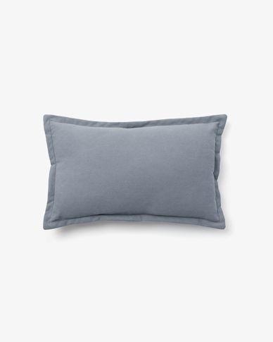 Housse de coussin Lisette 30 x 50 cm bleu