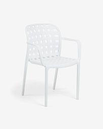 White Isa chair