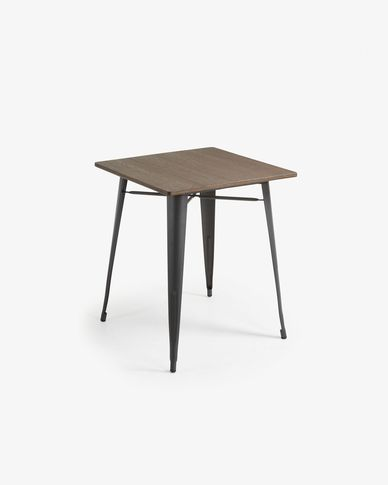 Table Malira 80 x 80 cm antracite