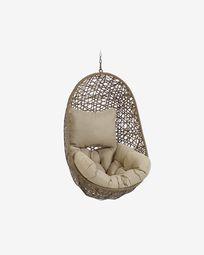 Florina brown hanging chair