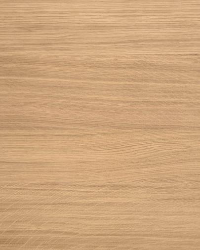 Lenon TV-Möbel 200 x 57 cm aus Massivholz und Eichenfurnier FSC MIX Credit