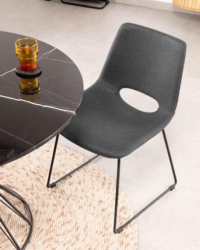 Zahara stoel grijs