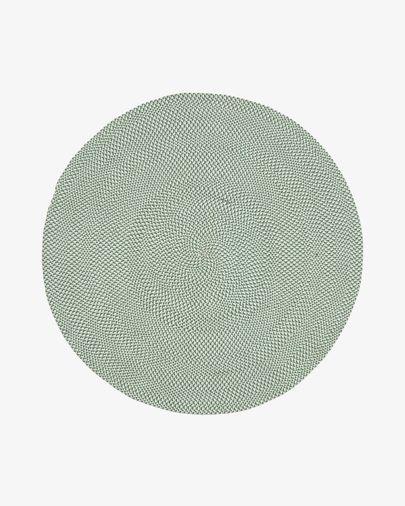 Alfombra Rodhe Ø 150 cm verde