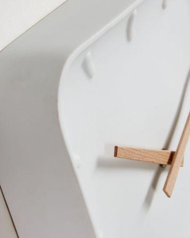 Reloj de pared cuadrado Wana 26 x 26 cm
