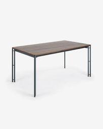 Table top 160x90 wallnut