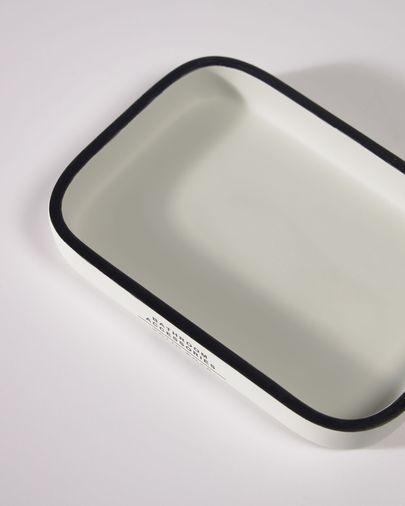 Porte-savon Lali blanc