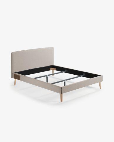 Dyla Bettbezug 160 x 200 cm, beige