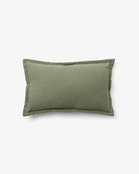 Capa de almofada Lisette 30 x 50 cm em verde