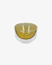 Braulia light yellow bowl