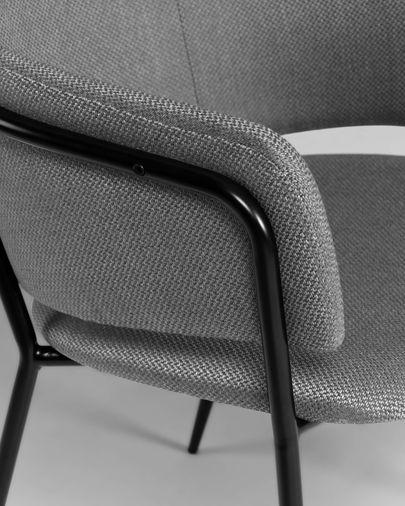 Chaise Runnie gris clair