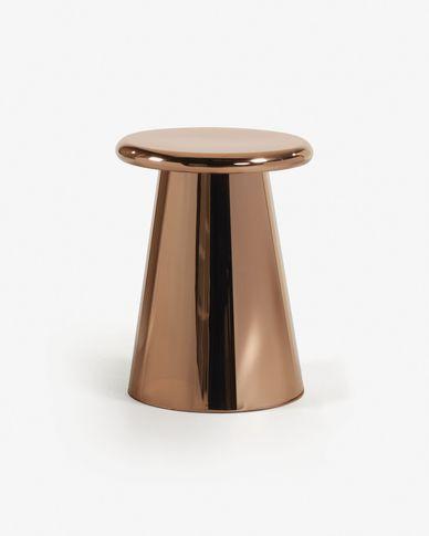 Copper Pitt side table Ø 41 cm