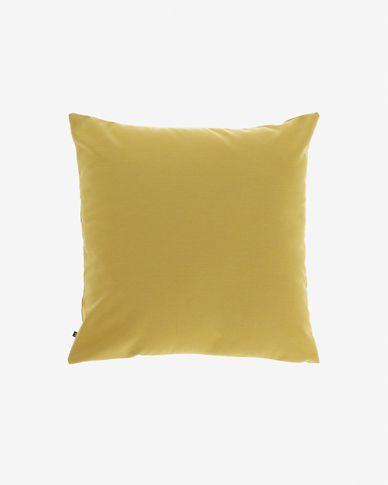 Kussenhoes Nedra 45 x 45 cm mosterdkleur