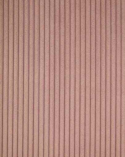 Suanne stoel roze dik corduroy