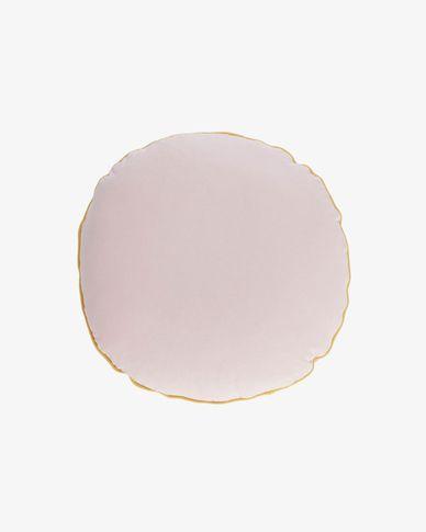 Fresia roze kussenhoes Ø 45 cm