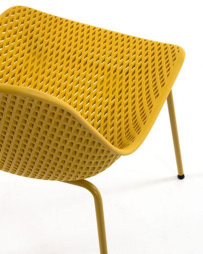 Silla Quinby amarillo