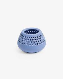 Lidia candleholder blue