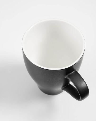 Sadashi porcelain mug in black