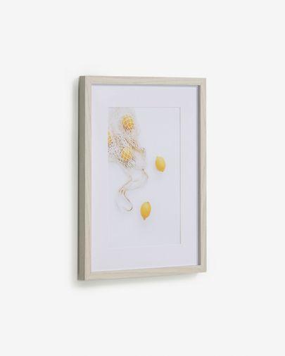 Quadre Leyla bossa amb llimones 30 x 40 cm