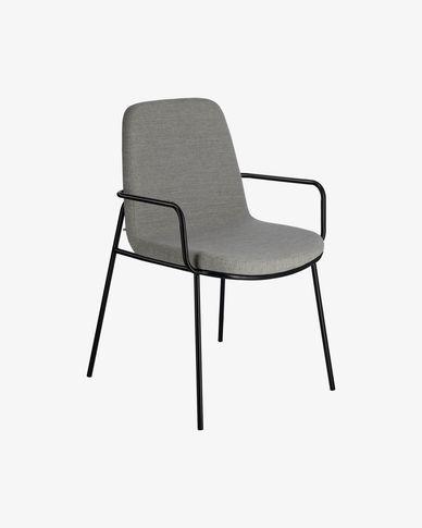 Cadira Giulia gris clar