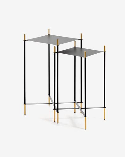 Set de 2 tables d'appoint Dagnen