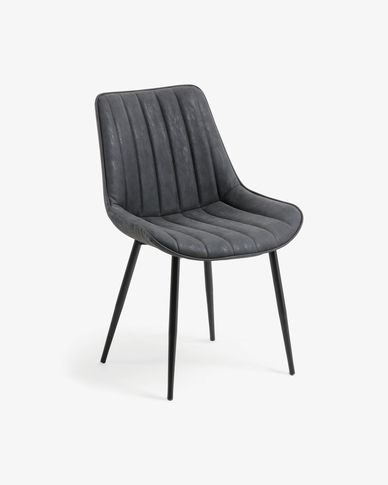 Chaise Janis graphite