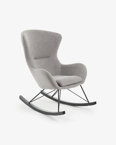 Grey Vania rocking chair