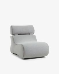Club fauteuil grijs