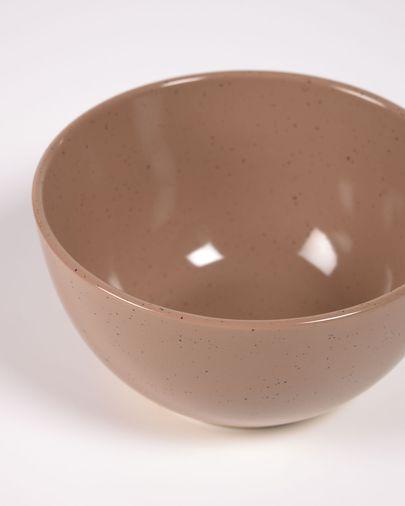 Bol Tilia ceràmica color marró clar