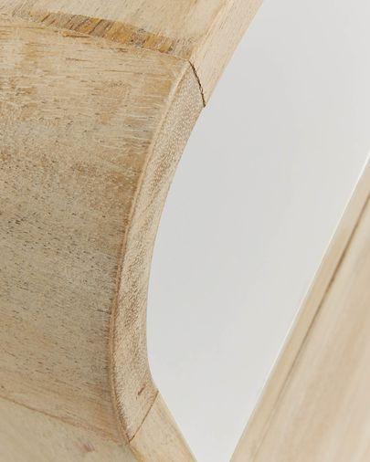 Georg nachtkastje 40 x 60, 5 cm naturel en wit