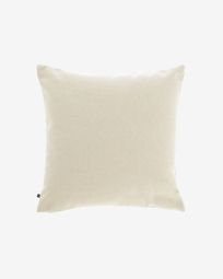 Beige Nedra cushion cover 45 x 45 cm