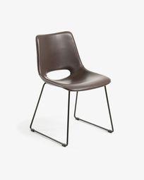 Dark brown Zahara chair