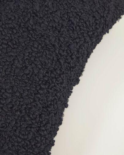 Corel black cushion cover 45 x 45 cm