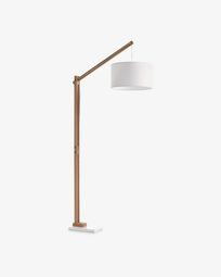 Riaz floor lamp, white
