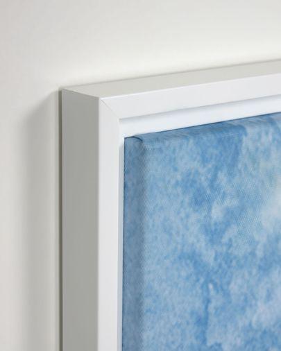 Set kunstwerken Maeva met blauwe zee 40 x 40 cm