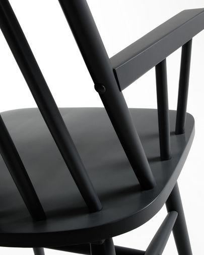 Silla con brazos Tressia negro