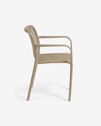 Chaise de jardin Isabellini beige