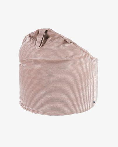 Pufe Wilma Ø 80 cm bombazine rosa