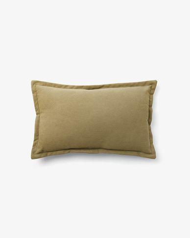 Housse de coussin Lisette 30 x 50 cm marron