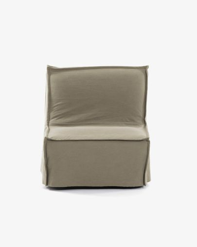 Sofà llit Lyanna 90 cm beix