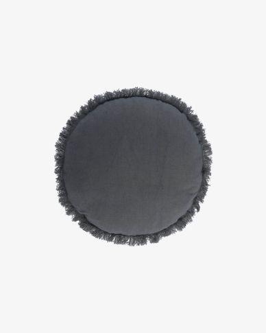Clarice blauw kussenhoes Ø 45 cm