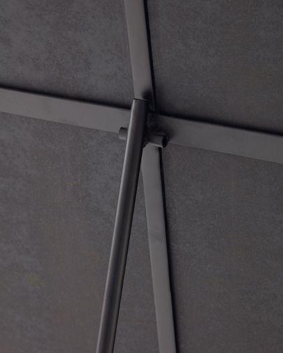 Specchio da terra Norland in metallo nero 55 x 166 cm