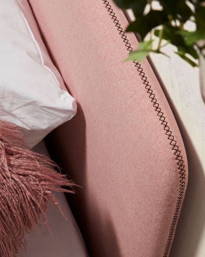 Cama Dyla rosa 90 x 190 cm