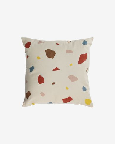 Nerta 100% cotton multi-coloured cushion cover 45 x 45 cm