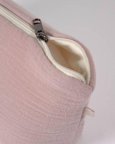 Nécessaire Breisa 100% algodão (GOTS) rosa